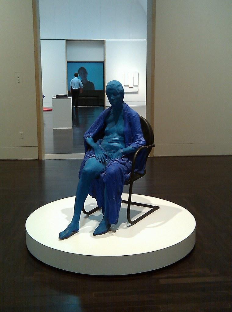 Le motif de la chaise dans l'art Segal_24