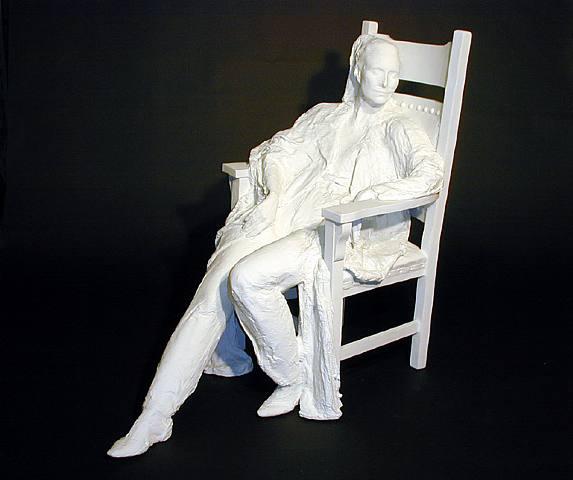 Le motif de la chaise dans l'art Segal_27