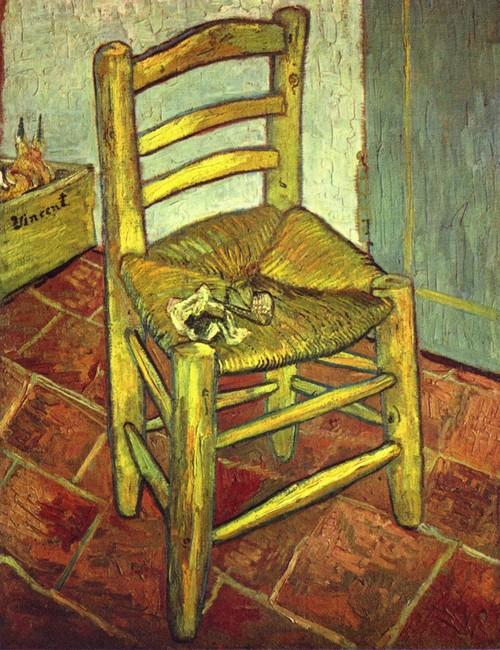 Le motif de la chaise dans l'art Van_go10