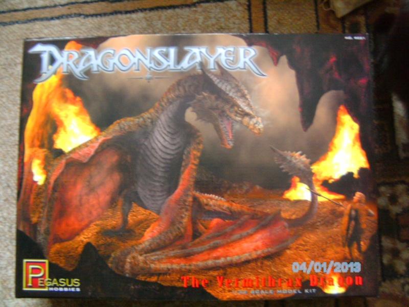 """The Vermithrax Dragon aus Disney´s """"Der Drachentöter"""" von Pegasus Modells 1:32 Pict2115"""