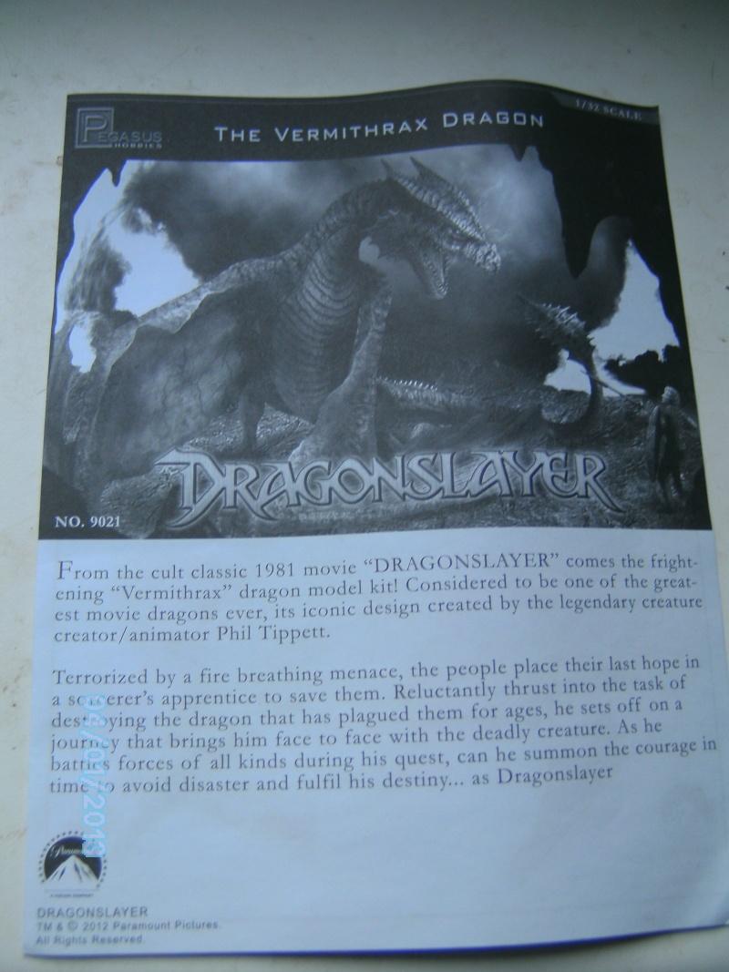 """The Vermithrax Dragon aus Disney´s """"Der Drachentöter"""" von Pegasus Modells 1:32 Pict2116"""