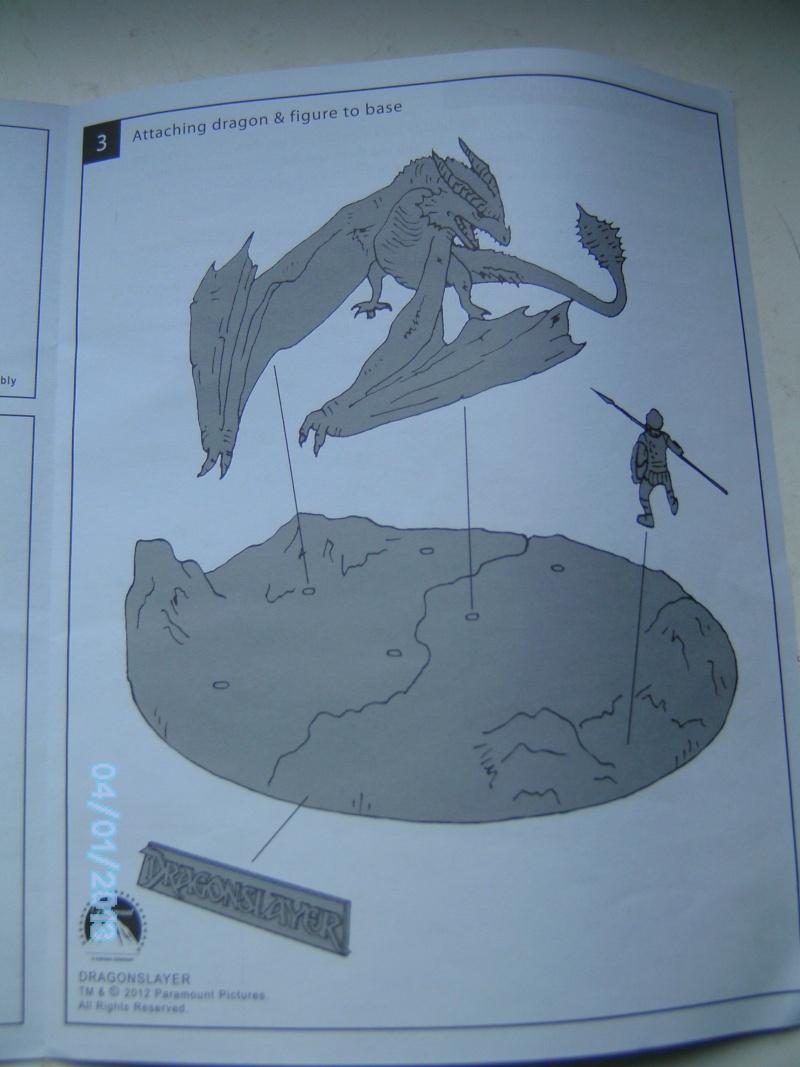 """The Vermithrax Dragon aus Disney´s """"Der Drachentöter"""" von Pegasus Modells 1:32 Pict2117"""