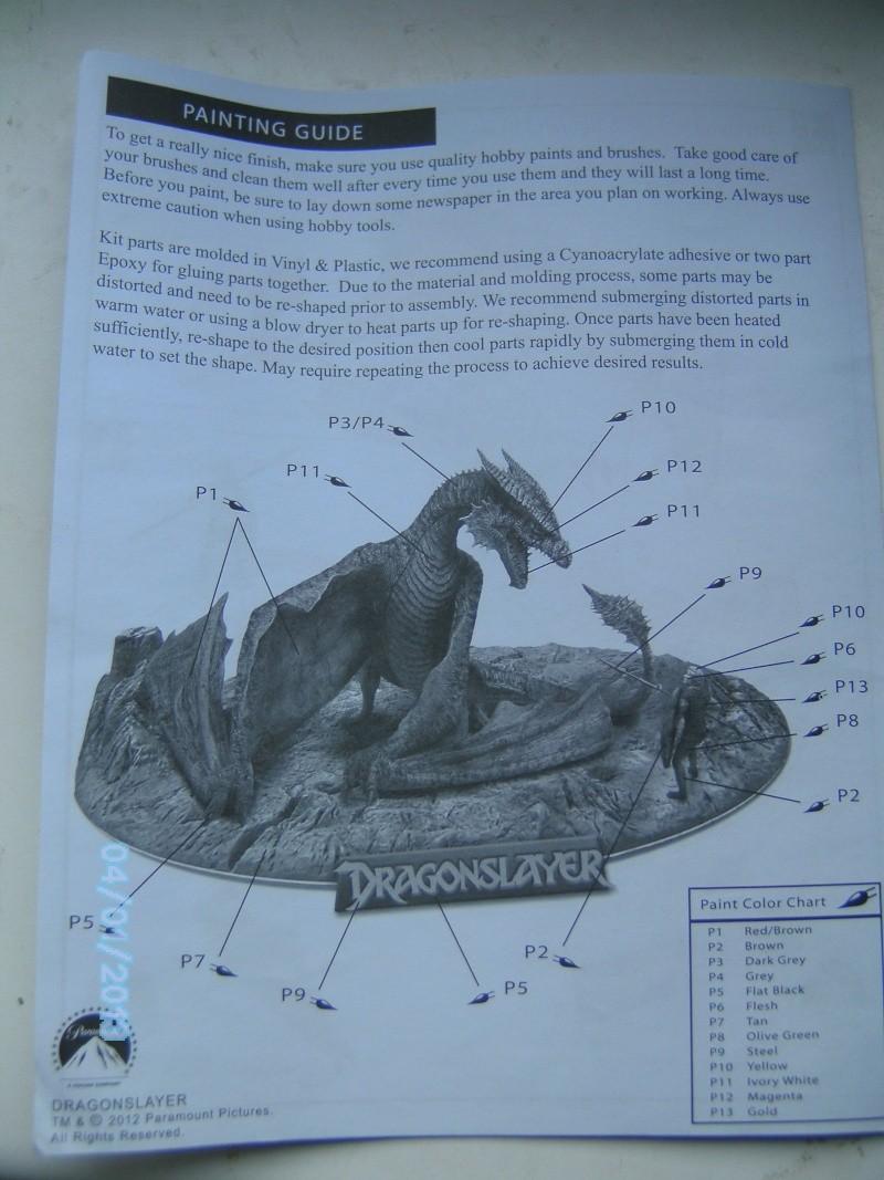 """The Vermithrax Dragon aus Disney´s """"Der Drachentöter"""" von Pegasus Modells 1:32 Pict2118"""