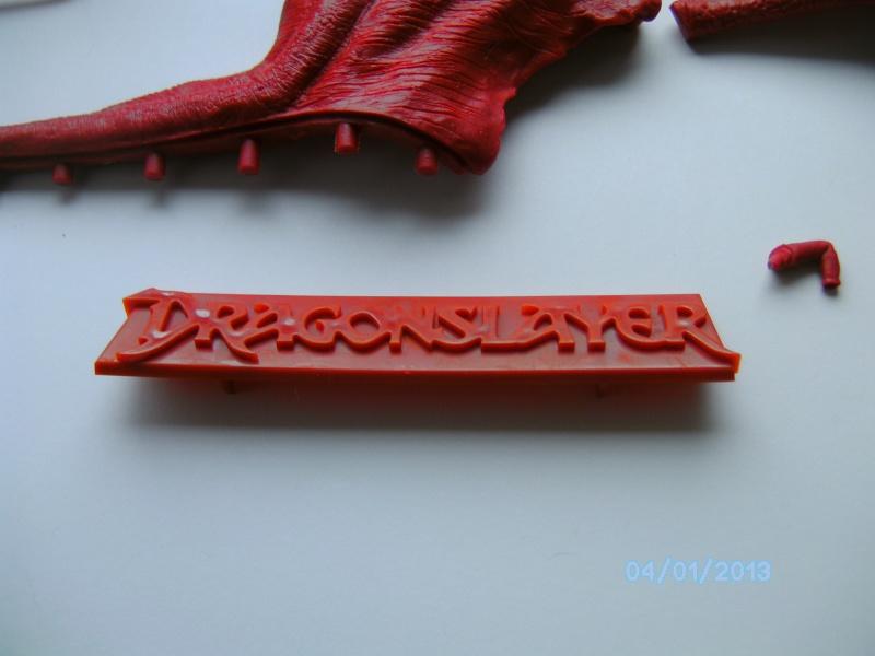 """The Vermithrax Dragon aus Disney´s """"Der Drachentöter"""" von Pegasus Modells 1:32 Pict2124"""