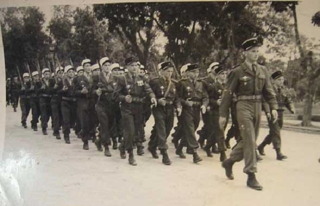 2ème Régiment Etranger de Parachutistes 1950_l10