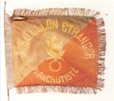 2ème Régiment Etranger de Parachutistes Fanion10