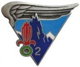 2ème Régiment Etranger de Parachutistes Insign13