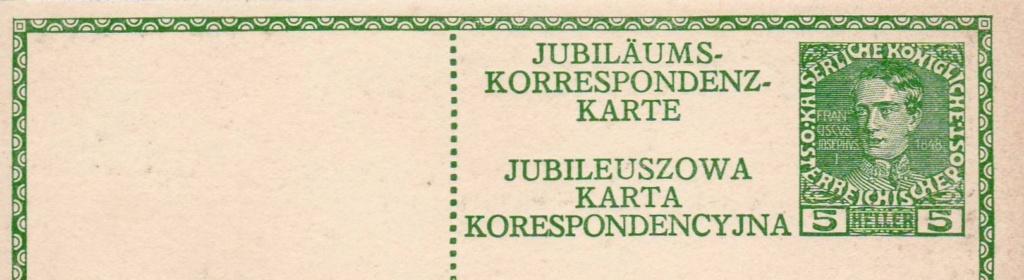 Jubiläumskarten Franz Joseph 1908/1914 Karte_14
