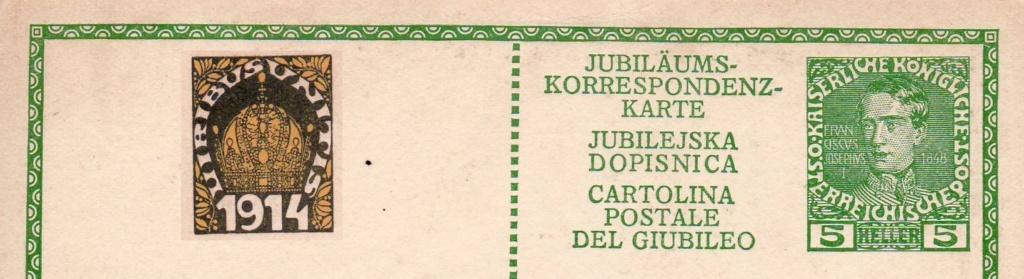 Jubiläumskarten Franz Joseph 1908/1914 Karte_15