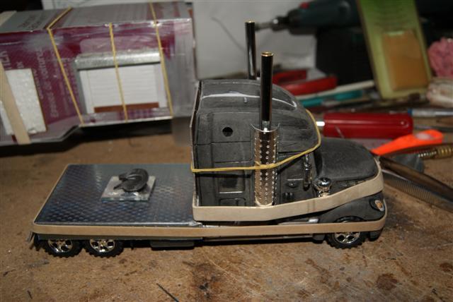 Présentation de ma nouvelle réalisation caravane de forain. Nouvel97