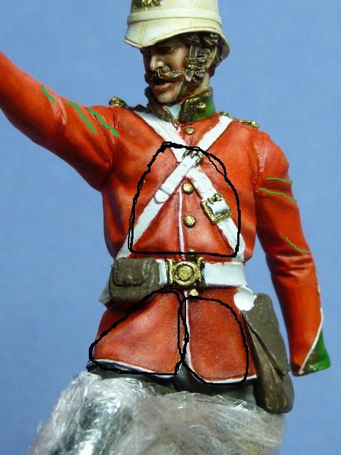 Officier Britannique pendant la guerre contre les Zoulous Anglo_10