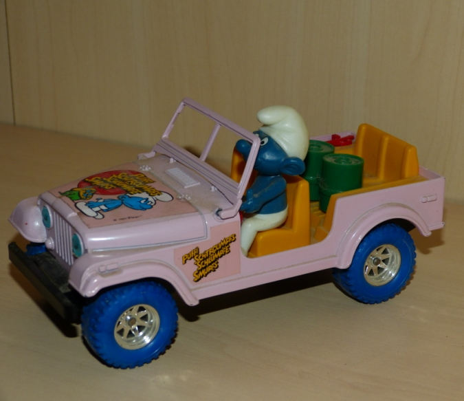 """Les """"petites voitures"""" à l'effigie des héros des années 80 10110"""