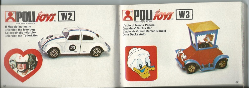 """Les """"petites voitures"""" à l'effigie des héros des années 80 Disney10"""