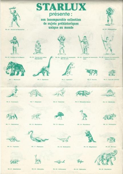 Les figurines Starlux : préhistoire, animaux, soldats etc... Starlu10