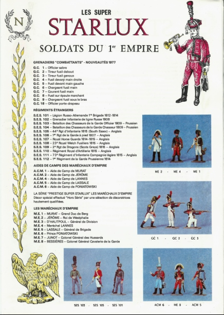 Les figurines Starlux : préhistoire, animaux, soldats etc... Starlu16