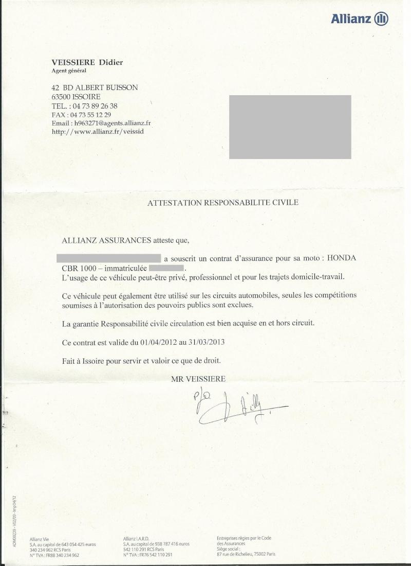 assurance contre le vol pour nos pistardes - Page 2 Scan0010