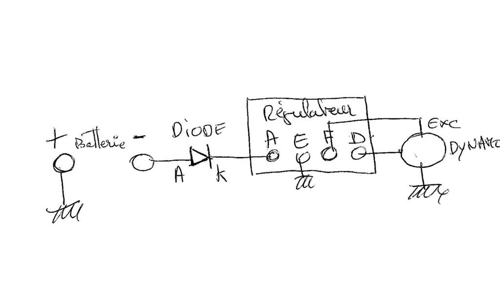 Allumage électronique B31 Diode010