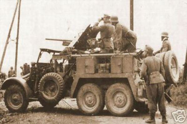 Krupp Protze with 3.7 cm Pak (montage terminé) Krupp_10