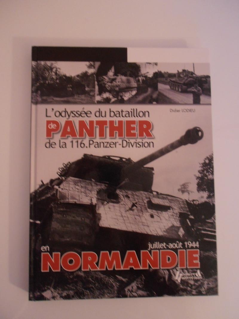 """Livre """"L'odyssée du bataillon de panther de la 116° Panzer-Division"""". P1050012"""