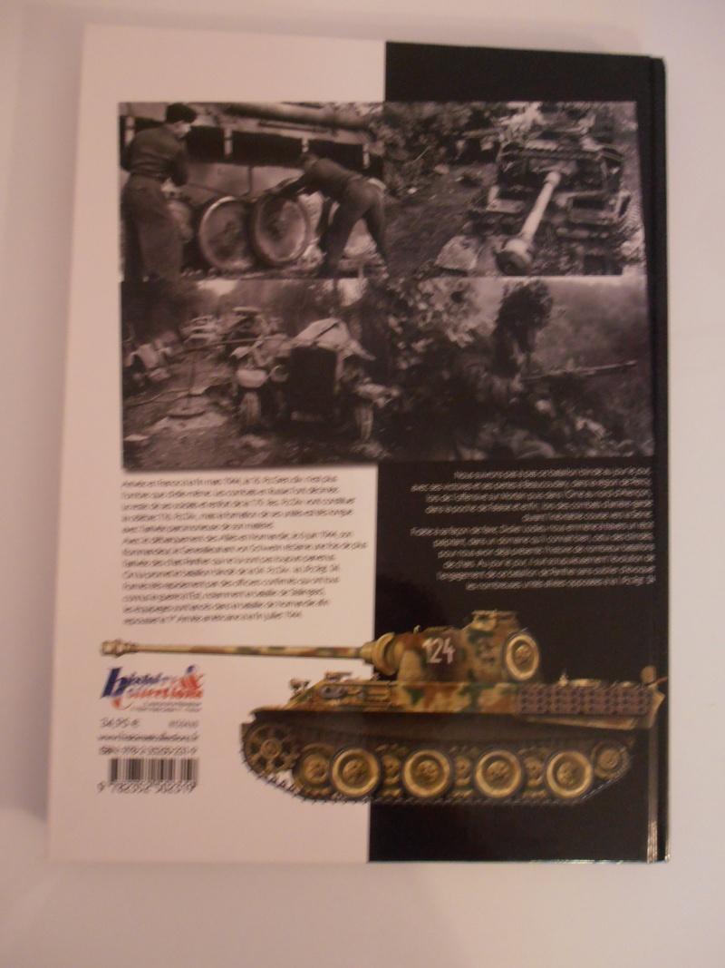 """Livre """"L'odyssée du bataillon de panther de la 116° Panzer-Division"""". P1050013"""