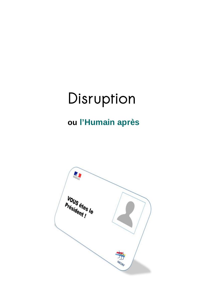 Disruption Disrup10