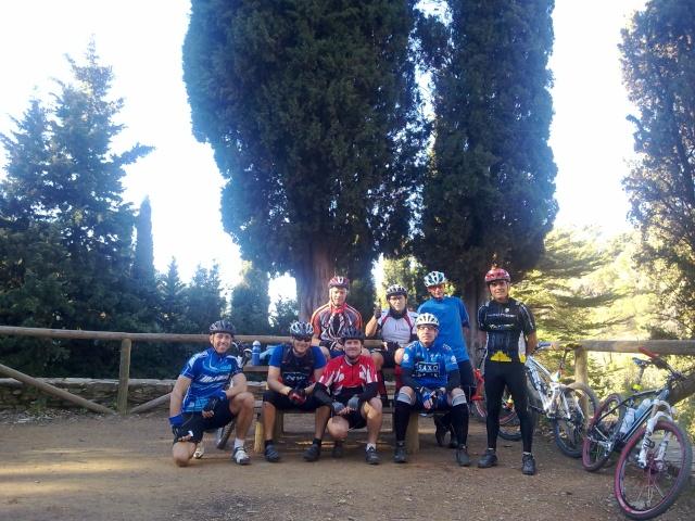 Crónica de los montes de Málaga día 22 22122010