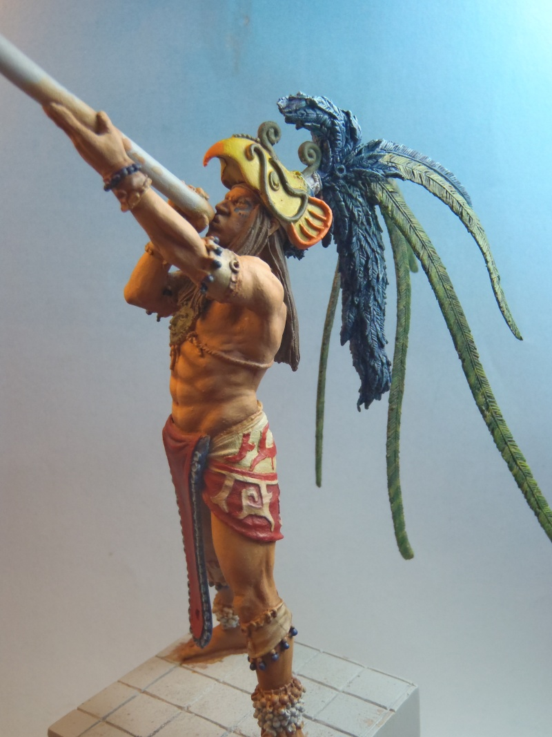 Guerrier Maya de ALEXANDROS MODELS P1232113