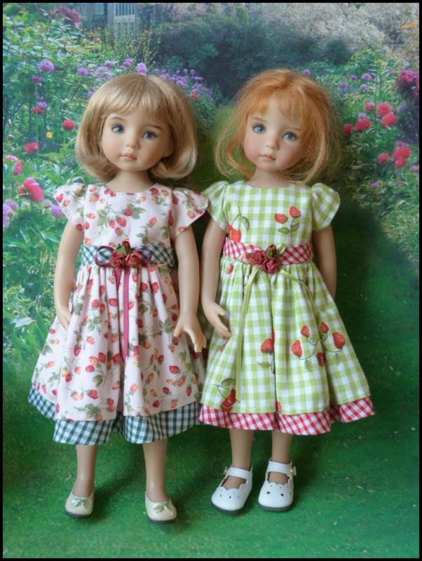 les 2 cousines en Violette 12033412