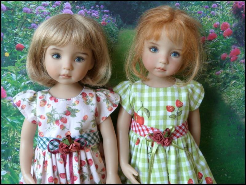 les 2 cousines en Violette 12033413