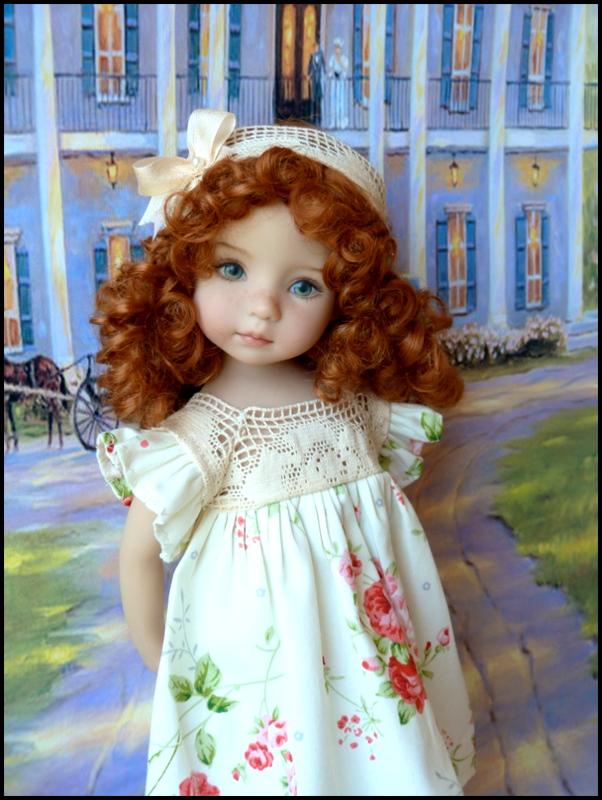 """Mes """"princesses  et leur maison de poupées  Robes blanches P3 P1700012"""