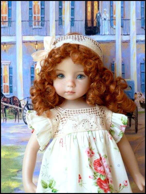 """Mes """"princesses  et leur maison de poupées  Robes blanches P3 P1700014"""
