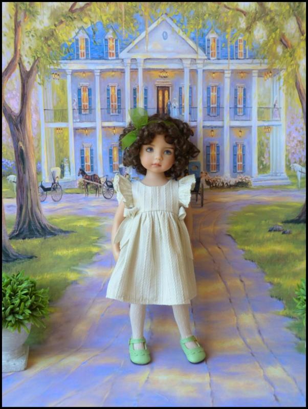 """Mes """"princesses  et leur maison de poupées  Robes blanches P3 P1700017"""