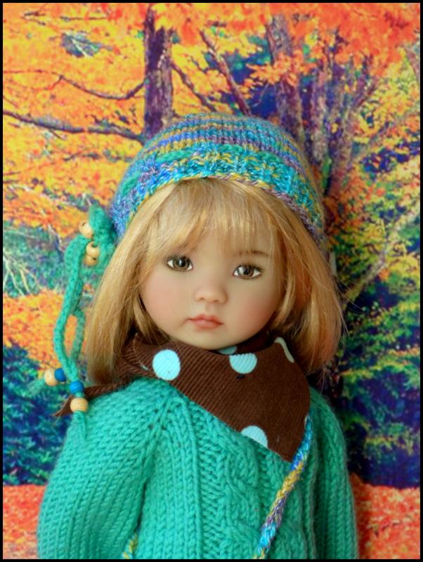 nouvel Automne des LD  P3  Justine,Louise,Lucile,Melanie,Eloïse Et bas de page Candice au petit marché bio P1720718