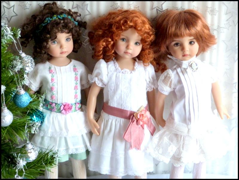 """Mes """"princesses  et leur maison de poupées  Robes blanches P3 - Page 3 P1730728"""