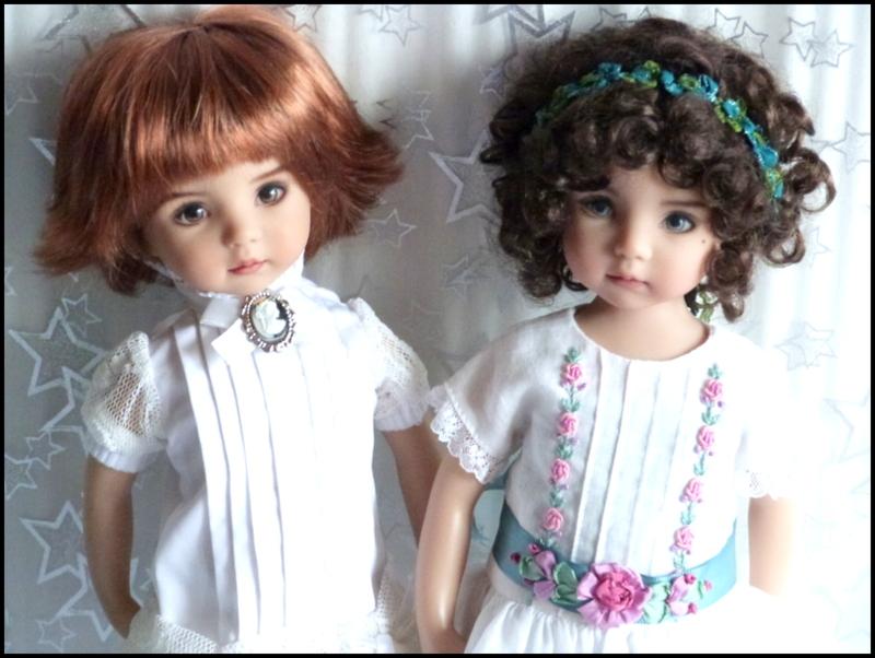 """Mes """"princesses  et leur maison de poupées  Robes blanches P3 - Page 3 P1730729"""