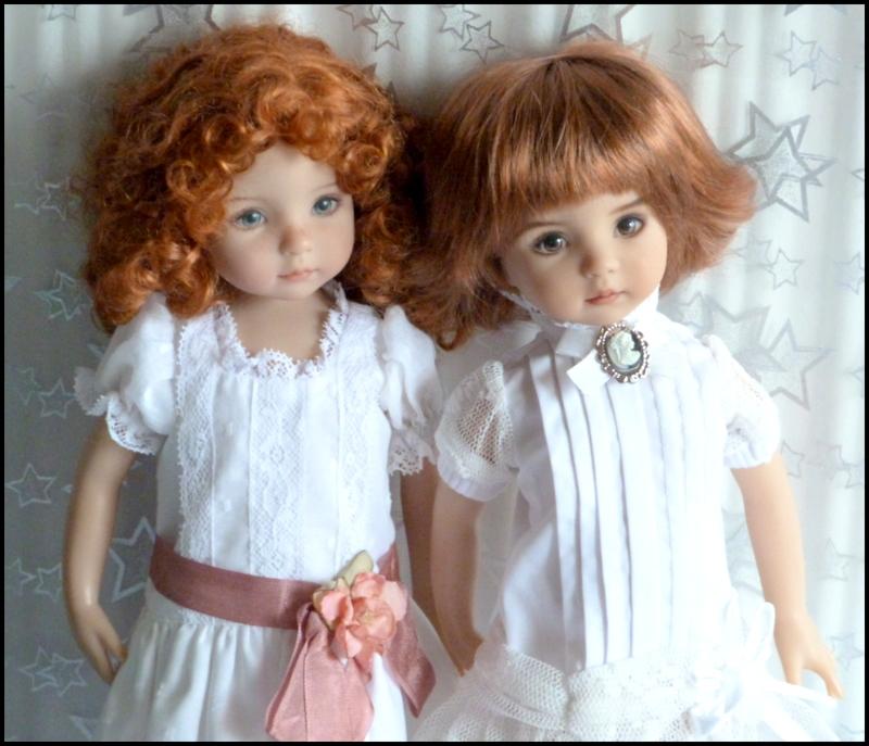 """Mes """"princesses  et leur maison de poupées  Robes blanches P3 - Page 3 P1730730"""