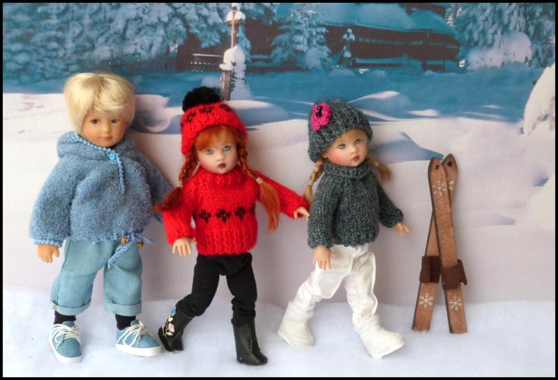 ma famille Kish en hiver P1740627
