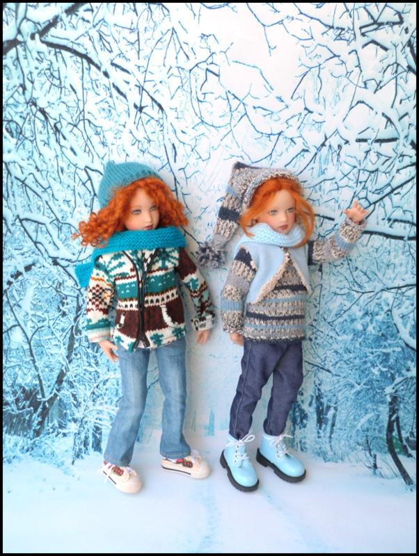 ma famille Kish en hiver P1740711