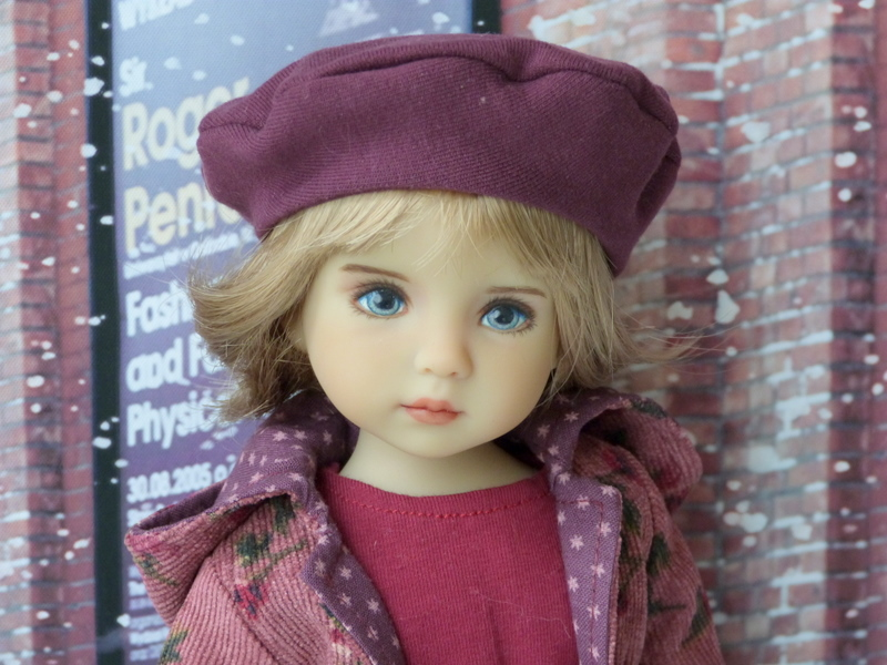 Violette,la petite nouvelle en 2 versions P1790225