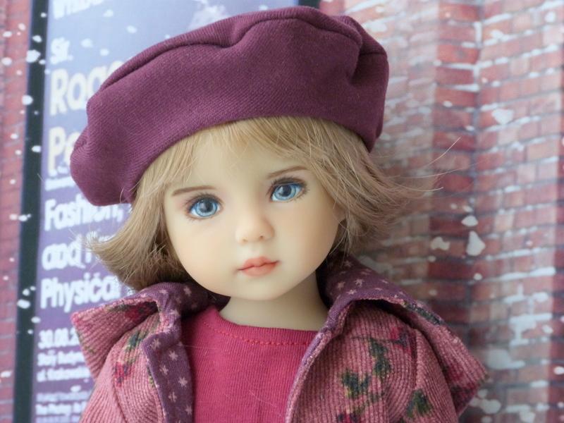 Violette,la petite nouvelle en 2 versions P1790226