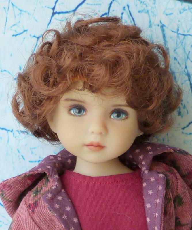 Violette,la petite nouvelle en 2 versions P1790311