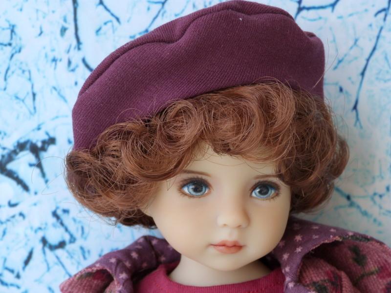 Violette,la petite nouvelle en 2 versions P1790313