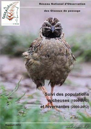 Suivi des populations nicheuses et Suivi des populations hivernantes  Rappor11