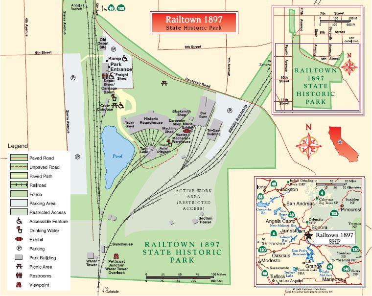 Jamestown : Railtown 1897 State Historic Park Rail10