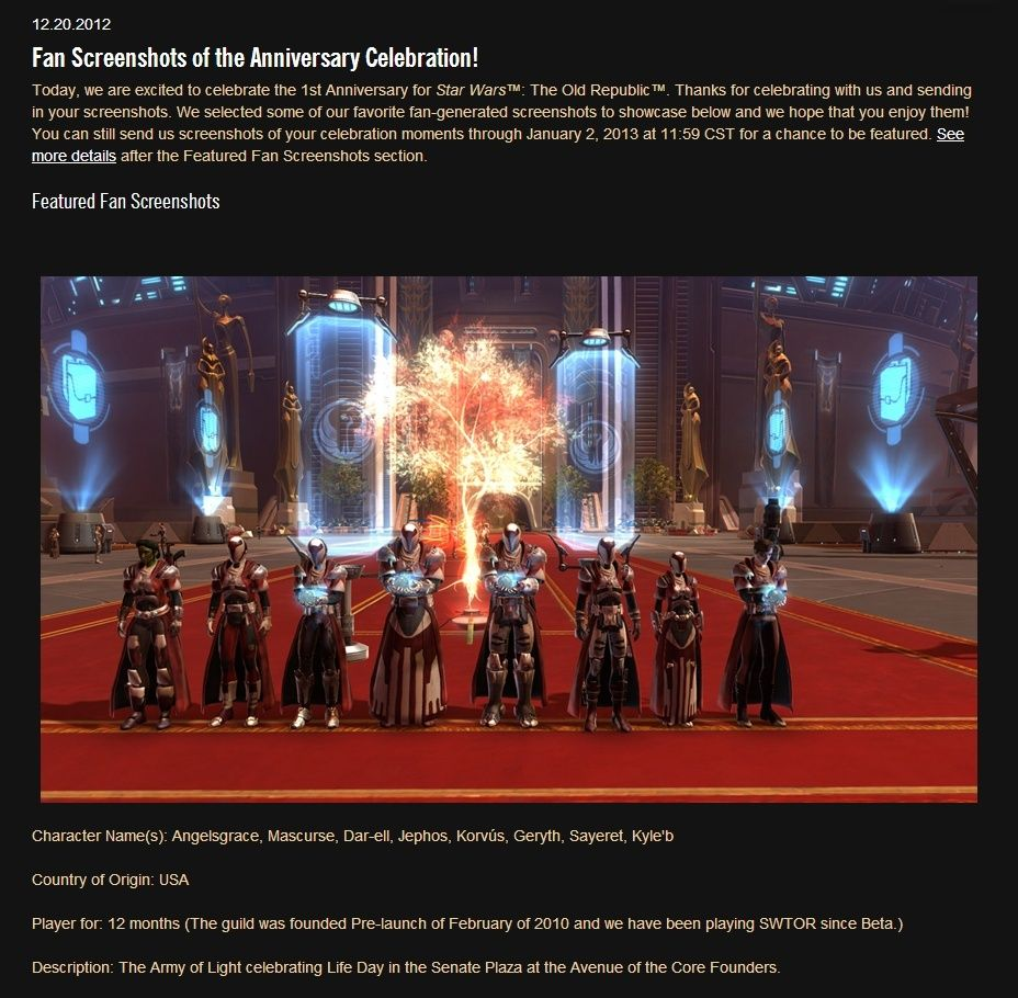 The Army of Light Makes News! Torpic11