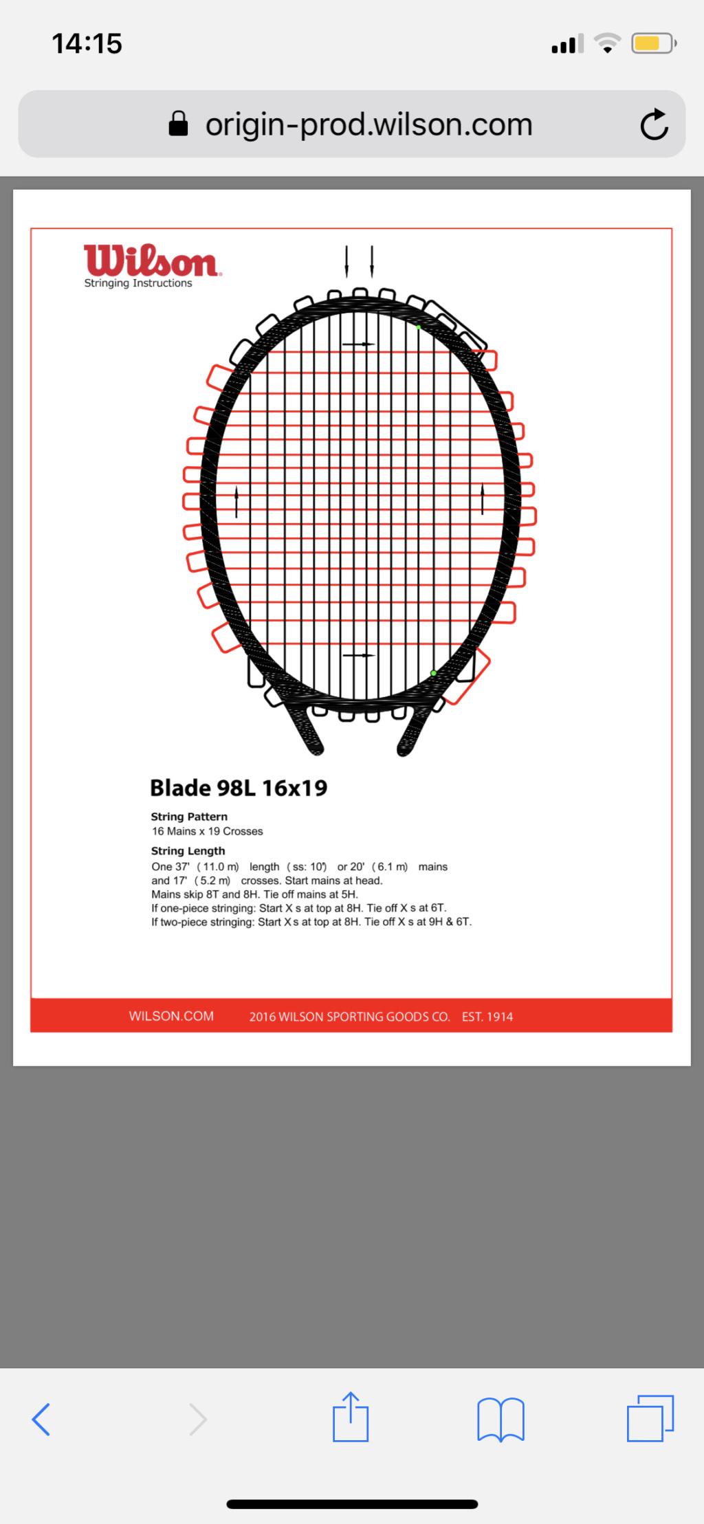 Incordare Wilson Blade 98L 16x19 a 4 nodi - Pagina 2 B94a2510