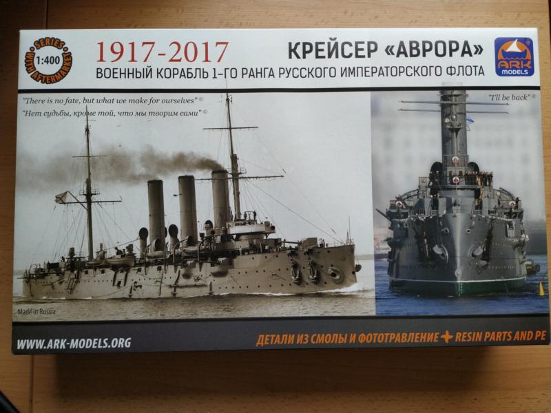 Kreuzer Aurora in 1/400 Ark Models 110