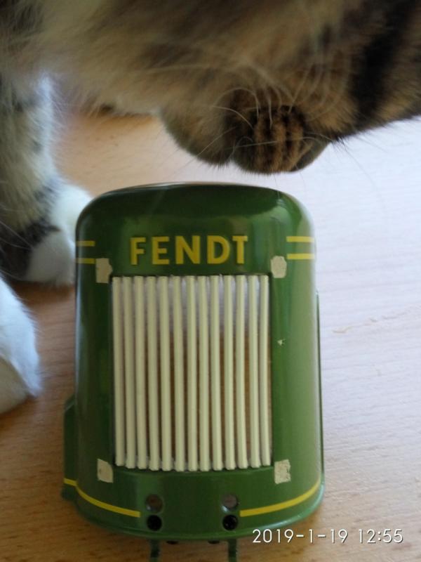 Fendt Dieselross 1/8 Hachette F110