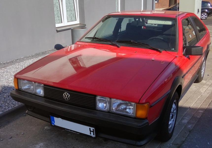 VW Scirocco schnappgeschossen V210