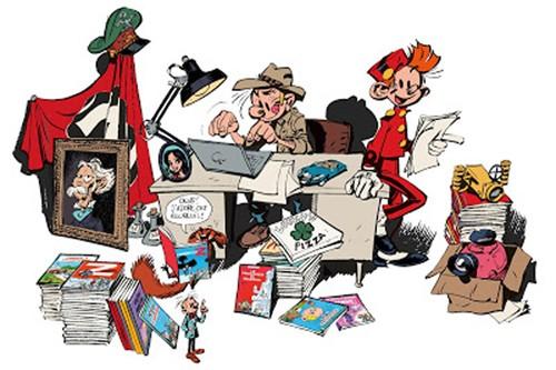 Spirou, l'Aventure humoristique sur Arte Spirou11